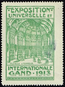 World Exhibition, Convention, Stamp Show, Poster, Label stamp Collection LOT #44