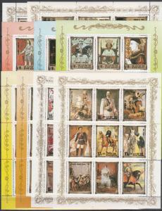 Korea #2438-46  MNH CV $125.00 (K1282L)
