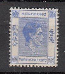 J25681 JLstamps 1938-52 hong kong mnh #160 king