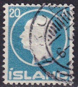 Iceland #94  F-VF Used CV $18.00  (Z7790)