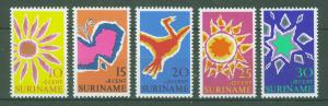 SURINAM/SURINAME 1970 MNH SC.B162/65 Easter Charities
