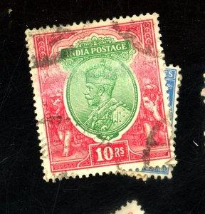 INDIA #43 49 58-9 67 85 96 100 USED FVF Cat $41