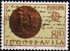 Yugoslavia. 1983 8d80 S.G.2075 Fine Used