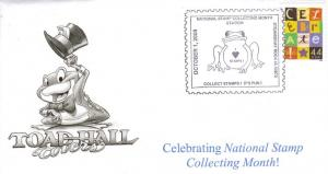 National Stamp Collecting Month Special Event Cover!