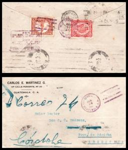 Goldpath: Guatemala cover, 1920, To Argentina , CV23_P13