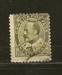 Canada 94 King Edward VII Used