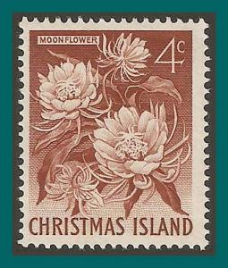 Christmas Island 1963 Moonflower, MNH #12,SG12