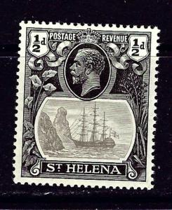 St Helena 79 MH 1922 issue
