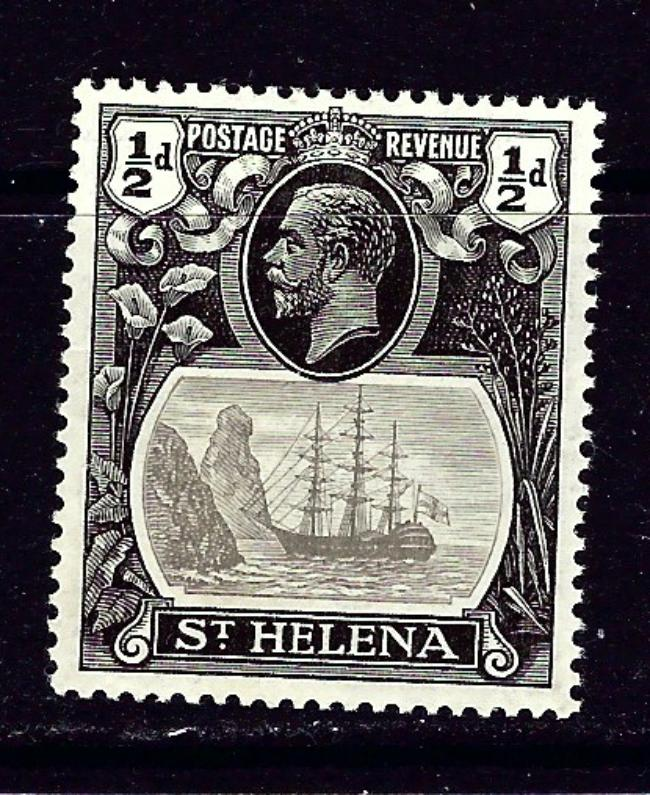 St Helena 79 MLH 1922 issue