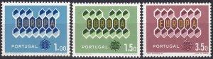 Portugal #895-7 MNH CV $2.65  (Z8012)