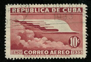 1936, Airmail, 10 c, Inauguration of the Gomez Monument, Cuba (T-8180)