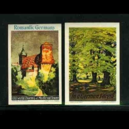 Germany - Tourism Poster Stamps