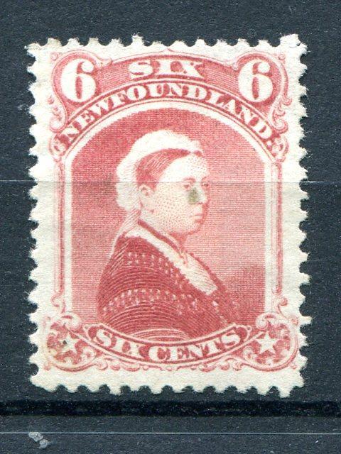 Newfoundland #35  Mint O.G. hinge remnant
