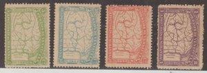 Venezuela Scott #137-138-140-141 Stamps - Mint NH Set