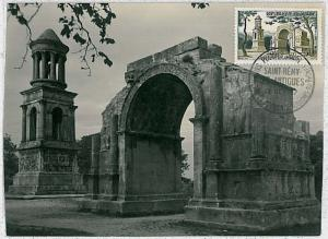 32269  MAXIMUM CARD - Architecture : FRANCE 1957