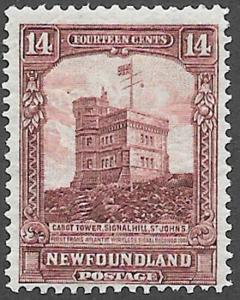 Newfoundland Scott Number 155 F H