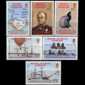 BR.ANTARCTIC TERR. 2001 - Scott# 301-6 Exped. Set of 6 NH