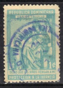 DOMINICA REPUBLIC SC# RA13  USED  1950  SEE SCAN
