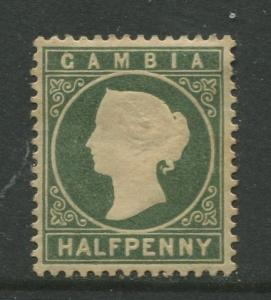 STAMP STATION PERTH Gambia #12 QV Definitive Issue MH  CV$7.00.