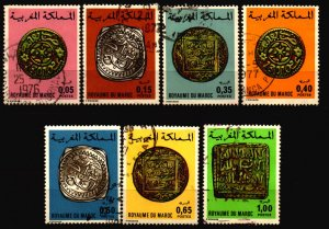 Morocco Scott 354 - 360 used