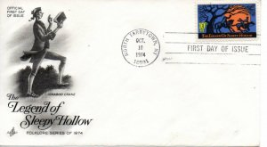 US FDC #1548 Sleepy Hollow, ArtCraft (6767)