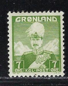 Greenland 3 Hinged 1938 issue