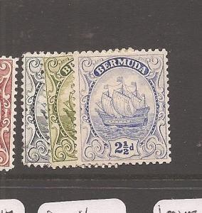 Bermuda SG 80,81a,82 MOG (6aya)