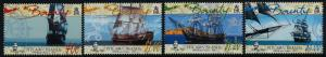 Pitcairn Islands 618-21 MNH Ship, Bounty Replica, Map, Bell