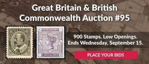 The 95th Great Britain & Commonwealth Auction