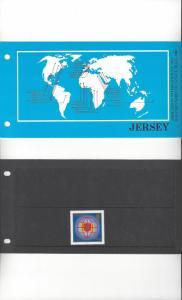 Jersey 315 AIPLF 1983, MNH, Presentation Pack