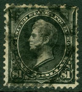 EDW1949SELL : USA 1895 Scott #276 Fine-Very Fine, Used, with thin. Catalog $95.