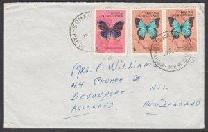 PAPUA NEW GUINEA 1966 7c rate cover SOHONO to New Zealand...................L679