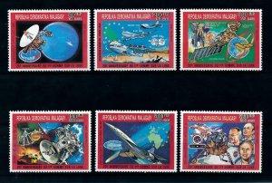 [102057] Madagascar 1990 Space travel weltraum  MNH