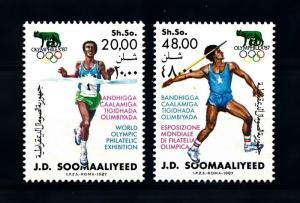[92308] Somalia 1987 Olympic Games Athletics  MNH