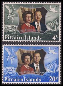 Pitcairn Islands 127-128 Mint VF NH