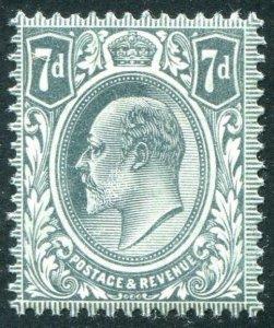 HERRICKSTAMP GREAT BRITAIN Sc.# 145 1909 Edward VII Fresh NH