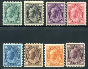 CANADA 66-73 MINT HINGED CPL SET. Fresher than usual,good color