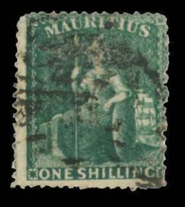 Mauritius Scott 22-23 Gibbons 54-55 Used Set of Stamps