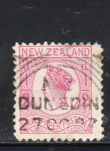 NEW ZEALAND #P3  1875 1/2p QUEEN VICTORIA NEWSPAPER STAMP   F-VF  USED   b