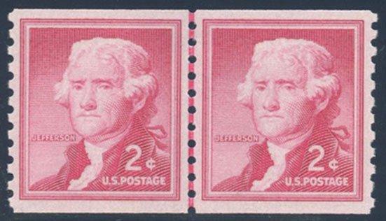 US Scott #1055bLP Mint, XF, NH, PSE (Graded 90)