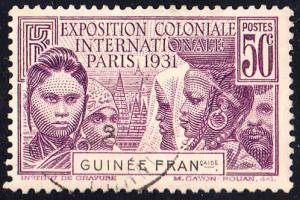 French Guiana Scott 117 Used.