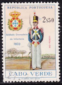 Cape Verde 333 USED 1965 Grenadier NCO, 1833