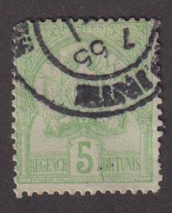 Tunisia 12 Coat of Arms 1899