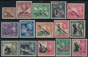 Malta #208-22*  CV $92.25