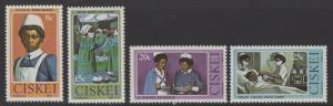 CISKEI SG22/5 1982 NURSING MNH