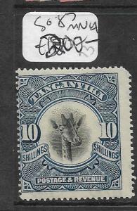 TANGANYIKA  (PP0610B) GIRAFFE 10/-  SG 87  MNH
