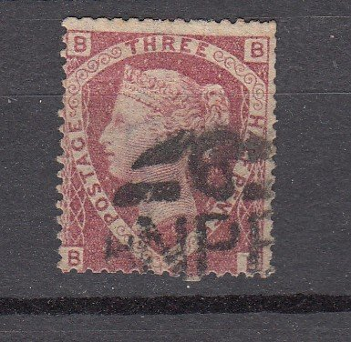 J27437 1860-70 great britain used #32 queen