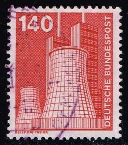 Germany #1183 Heating Plant; used (0.40)
