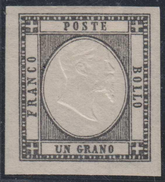 ITALY TWO SICILIES Sc 21 HINGED MINT XF SCV$400.00