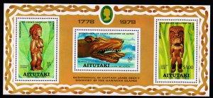 Aitutaki Stamp 1978 MNH  S/S